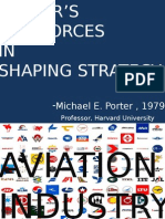 Porter 5 force in avition industry