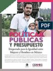 Políticas públicas y presupuesto