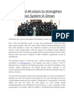 P Mohamed Ali vision to strengthen the Education System in Oman 1.pdf