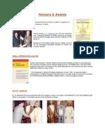 Honours  of P Mohamed ali