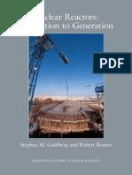 Nuclearreactors(Generation to Generation)