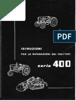 Fiat Tractor 411-Motores-411r 411t 421r 411c 451c Rip It