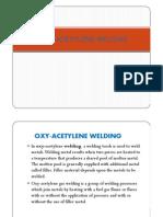 JJ104 Workshop Technology Chapter8 Oxy-Acetylene Welding 1
