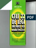 Cele 22 Legi Imuabile Ale Marketingului