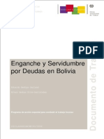 Enganche Servidumbre Por Deudas en Bolivia