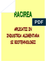 Racirea in industrie