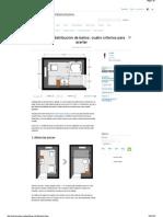 Diseño y Distribución de Baños