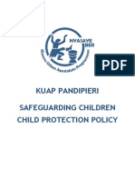Child Protection Policy for KUAP Pandipieri 2014