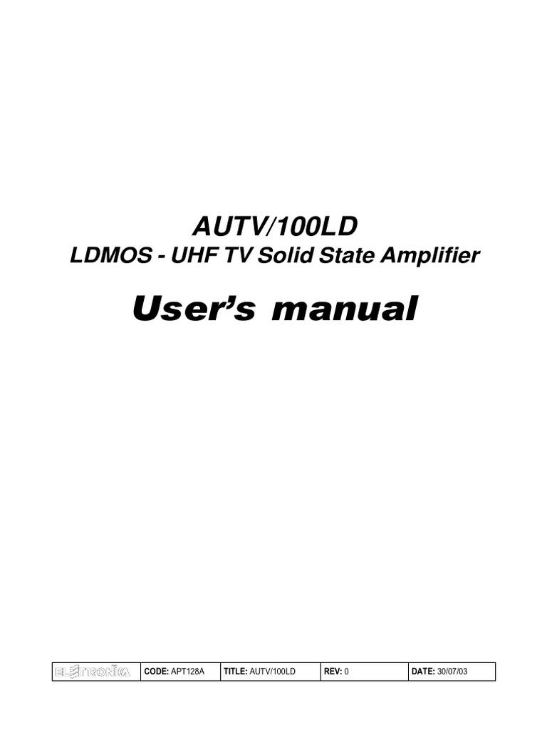Apt128a Autv 100ld Power Supply Amplifier 3a Switching Voltage Regulator Based Lm317hv