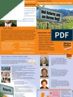 Naturns Gemeinderatswahl 2015 BürgerUnion für Südtirol