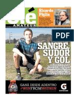 Ricardo Piglia sobre el fútbol