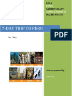 Best Peru Tours - 7-DAY TRIP TO PERU