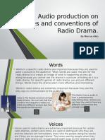 radio drama presentation powerpoint