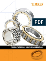 Timken Cylindrical Roller Bearing Catalog