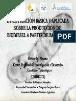 produccion de biodiesel a partir de bacterias