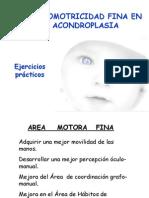 Psicomotricidad Fina Acondroplasia