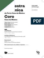 20150410 | Programa de Sala SURPRESA DE ANIVERSÁRIO | Sinfónica & Coro