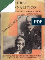 Revista El Discurso Psicoanaitico La enseñanza de Jacques Lacan