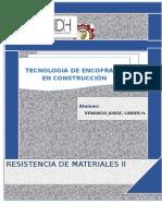 TECNOLOGIA DEL ENCOFRADO EN LA CONSTRUCCION
