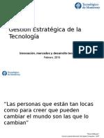 Admon de La Tecnologia Em2015
