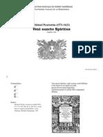 Veni sancte Spiritus / Michael Praetorius