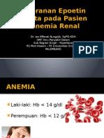 Peranan ESA Pada Pasien Anemia Renal