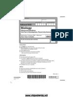 bio exam jan 2009
