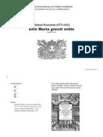 Ecce Maria genuit nobis / Michael Praetorius