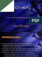 13.Audit Mutu - SJMP