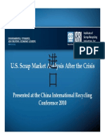 u s Scrap Market Analysis After the Crisis Circ 2010 ISRI 2