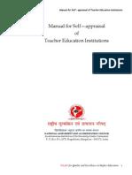 Manual for Teacher Education