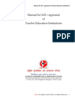 Manual for Teacher Education