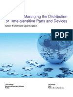 Effectively Managing Distribution