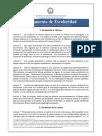 NUEVO Reglamento Escolaridad FCE