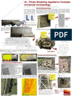 Beyond the Academic – Photo Modeling Applied to Complex Commercial Archaeology