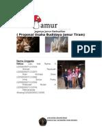 Proposal Usaha Budidaya Jamur Tiram