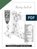 Manual maquina G2B