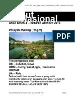 Soal Malang Satu Jiwa Batch 4 121013(1)