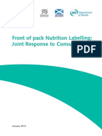 Frontofpacklabelling Response