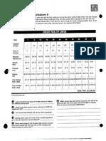credit reality check- worksheet