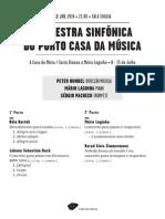 20140712 | Programa de Sala Orquestra Sinfónica do Porto Casa da Música | LAGINHA AO PIANO