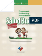 Programa Educativo SALUD BUCAL