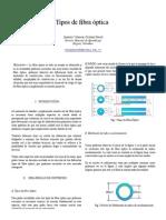 Ensayo IEEE Tipos de FO Cristian Jiménez V