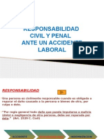 Responsabilidad Ante Un Accidente Laboral