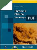 Cerecedo Cortina Vicente - Historia Clinica - Metodologia Didactica