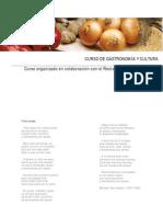 Curso de Gastronomia y Cultura