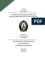 Analisis Struktur Daerah Ponorogo