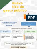 la nueva politica del gasto publico en la posguerra - Perú