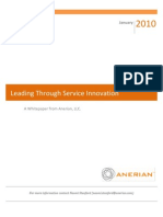 Service Innovation - Manage your Service Portfolio