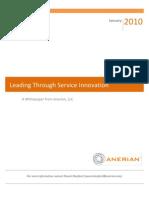 Service Innovation - Manage your Service Portfolio